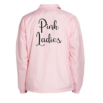 Grease Pink Ladies Coach Jacket