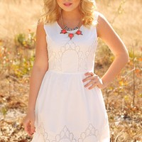 Here She Comes Dress: White - What's New