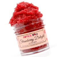 Strawberry Delight Brown Sugar Lip Scrubbie 1oz