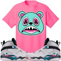 BAWS Sneaker Tees Shirt - Jordan 8 South Beach