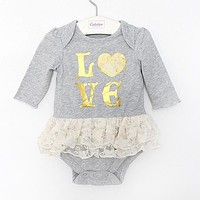 born Baby Rompers Dress Summer Cotton Baby Girl Jumpsuits Clothing long sleeve Baby Overalls Body For Baby Clothes