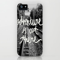 adventure is out there iPhone & iPod Case by writtenforyou