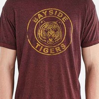 Saved By The Bell Bayside Tigers Burnout Tee