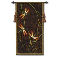 Pure Country Weavers 4029-WH October Song I Woven Wall Tapestry