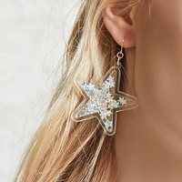 Confetti Star Drop Earrings