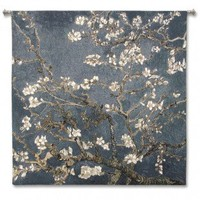 Fine Art Tapestries Almond Blossom Large - Studios, Acorn - 4590-WH - All Wall Art - Wall Art & Coverings - Decor
