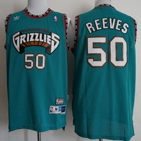 Mitchell & Ness Vintage Bryant Reeves #50 Vancouver Grizzlies Champion Hardwood Classics Jersey - Best Deal Online
