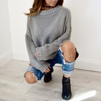 Favorite Grey Sweater