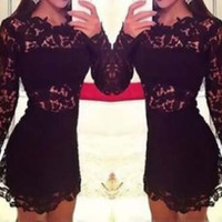 SALE/ Sexy Women Slim Fit lace Bodycon Party Cocktail Evening Club Dress