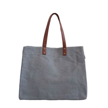 Carryall Tote Plus - Waxed Ash