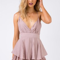 Soft Touch Playsuit