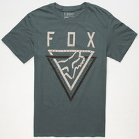Fox Traverse Mens T-Shirt Slate Blue  In Sizes