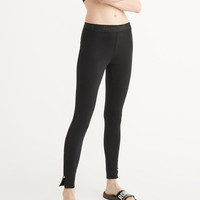 Womens Fleece Leggings | Womens Bottoms | Abercrombie.com