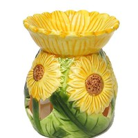 Sunflower Ceramic Oil Burner