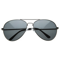 Classic Premium Metal Polarized Lens Aviator Sunglasses 8318 58mm