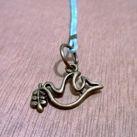 Bronze Charm -Dove from Pelhuaz by Red