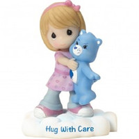 Precious Moments Care Bears Grumpy Bear Figurine - Girl