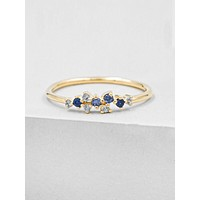 Twilight Ring - Gold + Blue