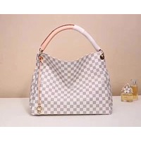 LV Louis Vuitton DAMIER CANVAS Artsy HANDBAG TOTE BAG