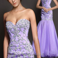 Sexy Sequined Removable Mermaid Prom Dress DVP0195 [DVP0195]