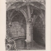 Antique Print St. Margarets Well Restalrig (A70) by Grandpa's Market