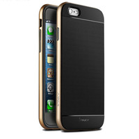 Contract Design Metal Frame Soft Back Cover in Sillicon Phone Case Cover for iPhone 6S & iPhone 6S Plus