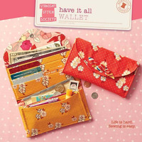Pattern, Have It All Wallet, Craft Supply, Straight Stitch Society