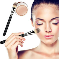 Hot Sale BB Cream Professional Naked Concealer + Silver Handle Brush Makeup Base Foundation Concealers Face Powder