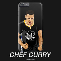 Stephen Curry Chef IPhone / Galaxy Phone Case - Case15