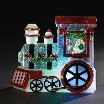 Roman's Lighted Swirl Train-30213