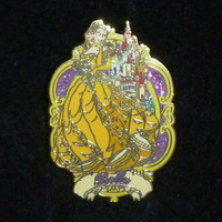 Disney Beauty And The Beast Belle Pin
