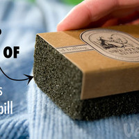 Sweater Stone: Eco-friendly and effective removal of pilling.