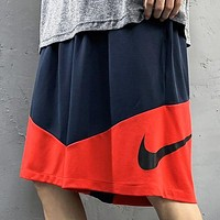 NIKE Summer New Fashion Hook Print Shorts