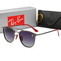Ray-Ban Fashionable Women Summer Sun Shades Eyeglasses Glasses Sunglasses