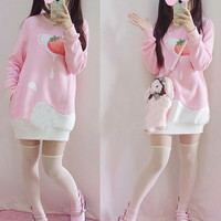 Cute cartoon bunny dress