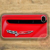Corvette -iPhone 5, 5s, 5c, 4s, 4 Ipod touch 5, Samsung GS3, GS4 case - Silicone Rubber or Hard Plastic Case, Phone cover