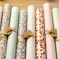 Collecting wrapping paper v5