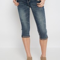 Embroidered Vintage Cropped Skinny Jean   Cropped Jeans   rue21