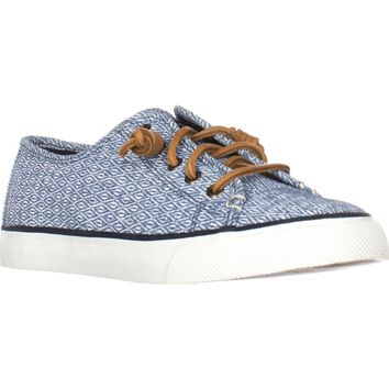 Sperry Top-Sider Seacoast Fashion Sneakers, Dimond Navy, 8 US / 39 EU