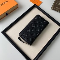 LV Louis Vuitton women man Monogram Giant Micro Pochette Accessories Voyage lattice Brazza zippy wallet purse bucket coin card make up bags pouches handbag Best quality