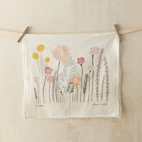 Garden Sprouts Cotton Tea Towel