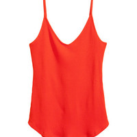 H&M Fine-knit Camisole Top $17.99