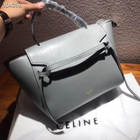 CELINE Women Fashion Leather Satchel Bag Shoulder Bag Handbag