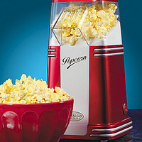 Nostalgia Electrics Retro Series Mini Hot Air Popcorn Maker - Red