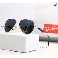 RayBan Ray-Ban Trending Stylish Summer Sun Shades Eyeglasses Glasses Sunglasses 6#