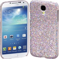 Cimo Bling Sparkle Hard Cover Back Case for Samsung Galaxy S4 mini S IV GS4 - Silver