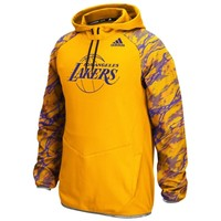 Mens Los Angeles Lakers adidas Gold Immortal Pullover Hoodie