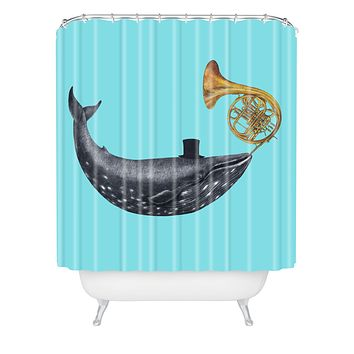 Terry Fan Song Of The Sea Shower Curtain
