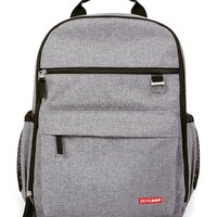 Heather Gray Duo Diaper Backpack