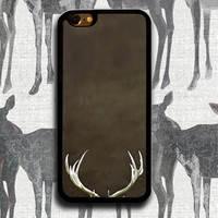 Rubber iPhone 5s Case, Deer Antlers, Silicone iPhone 5 case for Men, Bumper Case